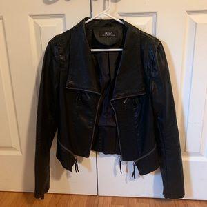 LuLu's black moto jacket